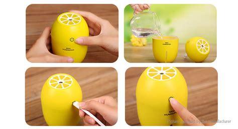 Lemon Mini Portable Humidifier Usb 180ml 9 49 lemon styled portable usb mini humidifier led light air purifier 180ml tank