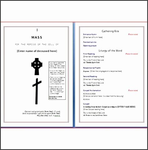 event program template publisher 8 free event program template sletemplatess