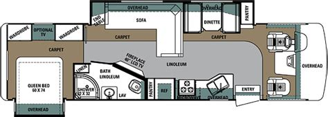 class a motorhome floor plans forest river georgetown floorplans class a motorhome