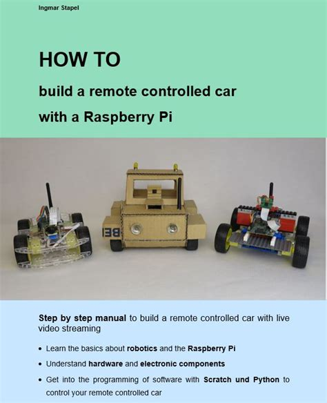 how to build a car books robot built of lego bricks with a raspberry pi