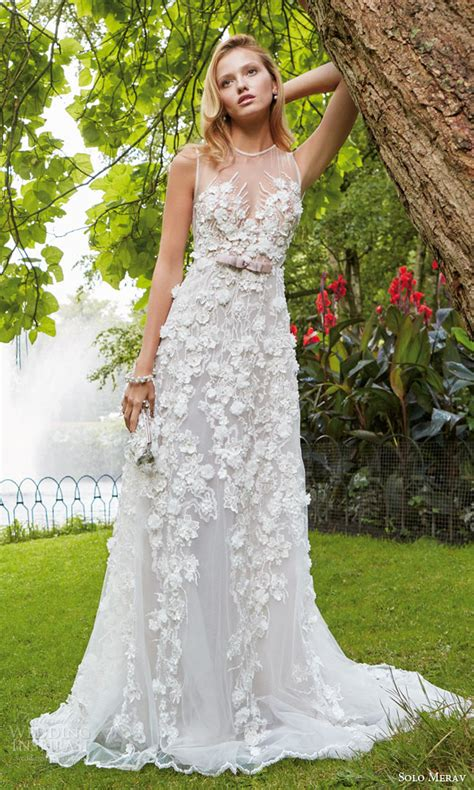 Wedding Dress Flower by Merav 2016 Wedding Dresses With