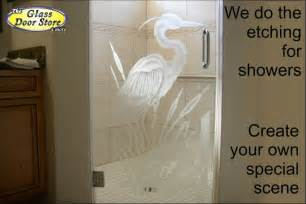 shower door etched glass designs quotes