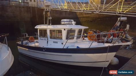fishing boat uk sale fishing boat hardy fishing 24 extended wheelhouse for sale
