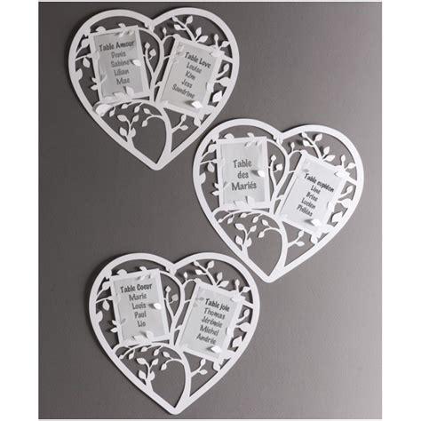 plan de table coeur plan de table coeur blanc achat plan de table mariage f 234 tes