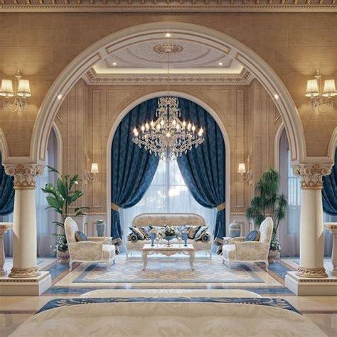 luxury mansion interior qatar  taher design studio