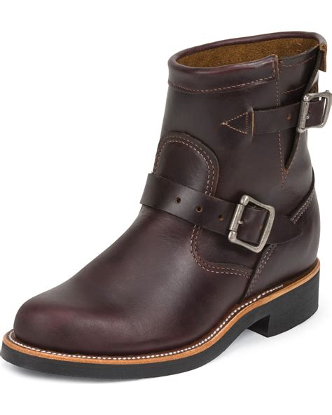 engineer boots chippewa s 7 quot engineer boots boot barn