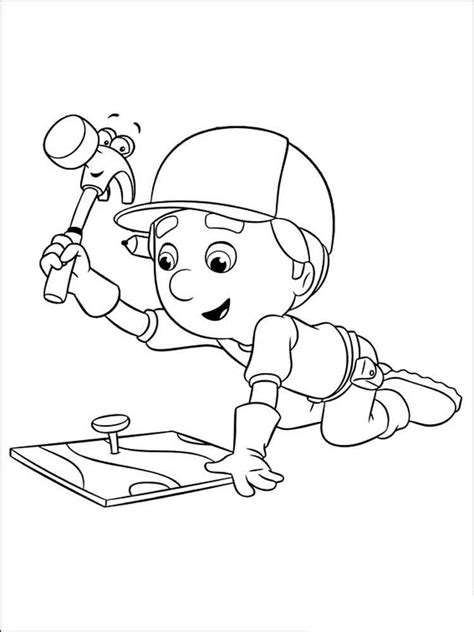 handy manny coloring pages handy manny coloring pages free printable handy manny