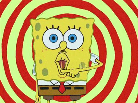 Bantal 9 Pcs Sponge Bob Mobil All New Alphard spongebob gif 9to5animations