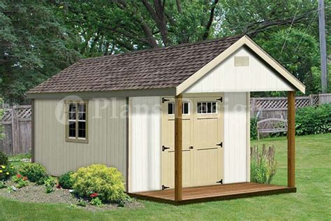 shed roof cabin plans 20 x 12 cabin guest house building covered porch shed plans p62012 ebay