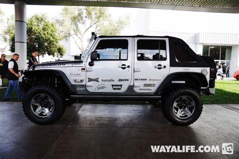 jeep wrangler 4 door silver 2013 sema silver pitbull jeep jk wrangler 4 door
