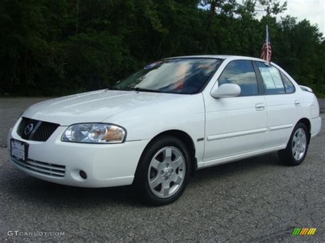 2006 Cloud White Nissan Sentra 1 8 S Special Edition