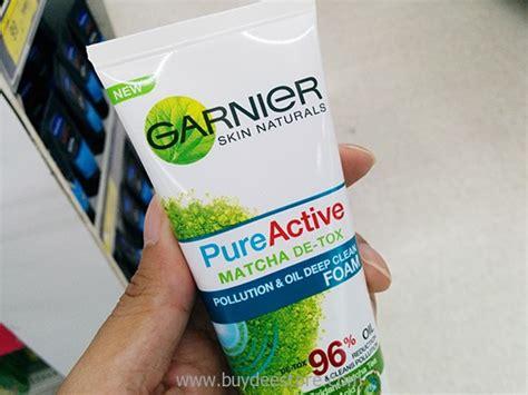 Garnier Clear Matcha Detox by Garnier Skin Naturals Active Matcha De Tox Pollution