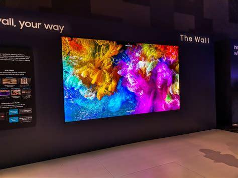 ces  remember samsungs massive wall tv    bigger  gizmodo uk
