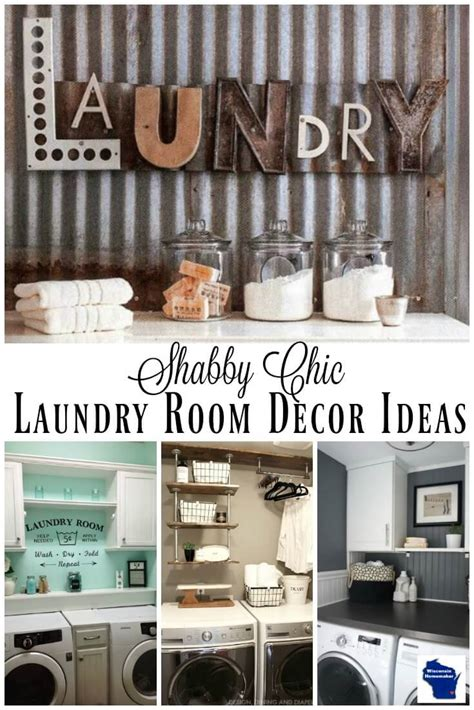 laundry room decor ideas and easy diy country chic laundry room decor ideas