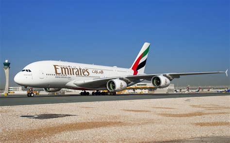 emirates qatar emirates lands in doha with world s shortest a380 flight