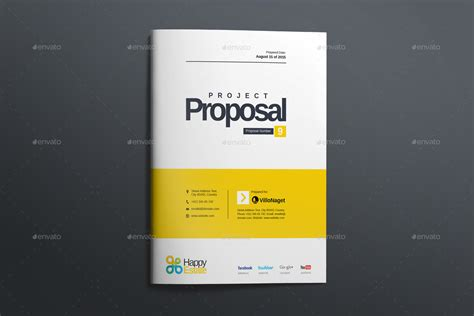 cover design for proposal proposal by graphicartist graphicriver