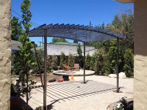 Steel Trellis Handmade Arched Steel Trellis By Steel It Inc