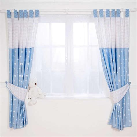 Baby Boy Bedroom Curtains | 4 types of blue nursery curtains