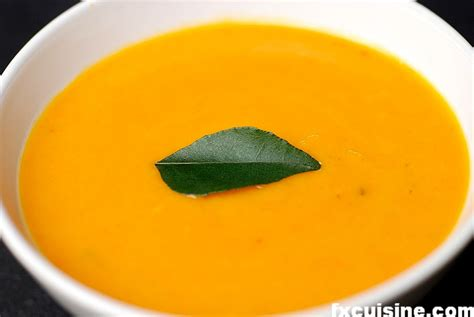 my indian butternut squash soup