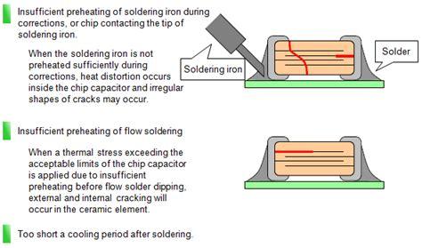 tantalum capacitor vs mlcc what factors can cause cracking of chip multilayer ceramic capacitors murata manufacturing co