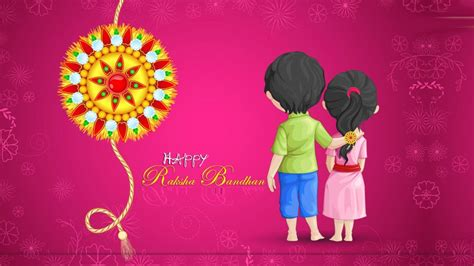 cartoon wallpaper for raksha bandhan happy rakhshabandhan