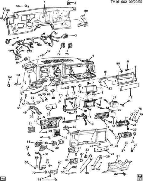 instrument panel related parts part 1