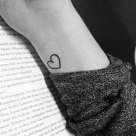 small heart wrist tattoo small idea on wrist shortlist