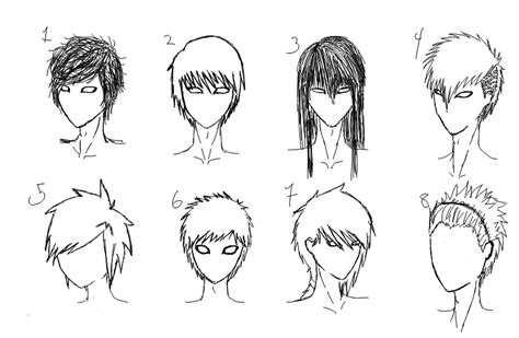long anime hairstyles guys male hairstyles favourites by akatsukiemi on deviantart