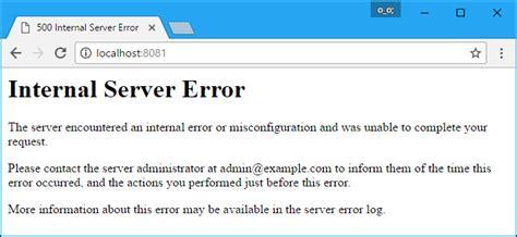 internal server error what is a 500 internal server error and how do i fix it