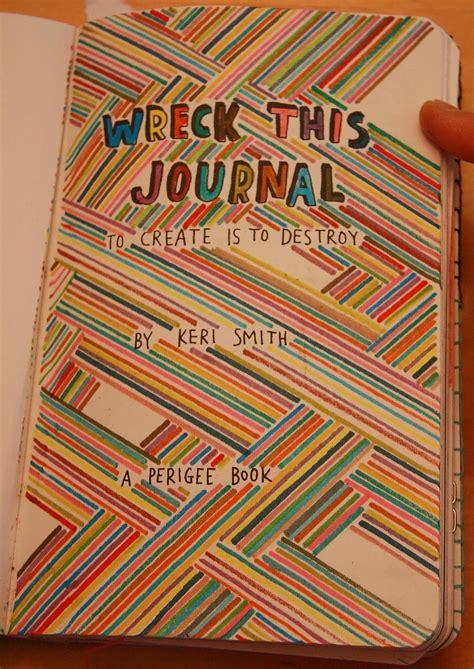 s book journal wreck this journal the guts part xi