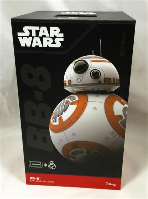 Remote Bb 8 Droid Wars wars the awakens sphero bb8 bb 8 app remote controlled robot droid ebay