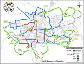 map of payson arizona payson area trail system pats