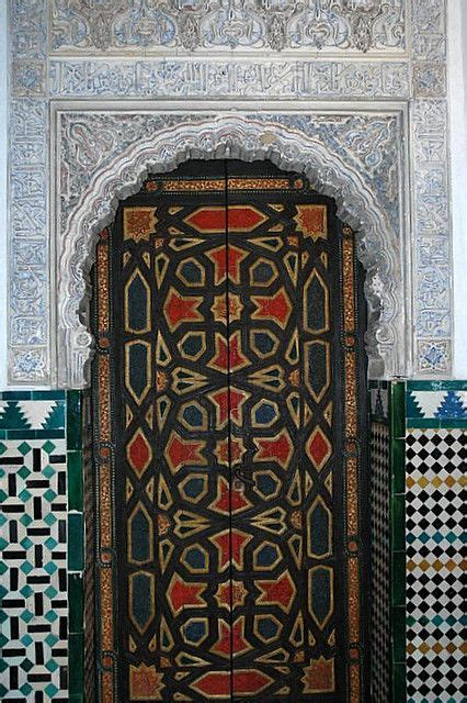 doors of the royal palace door design at the alcazar royal palace of seville