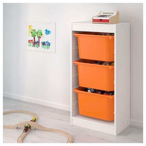 Etagere Jardin Ikea by Trofast Storage Combination White Orange 46x30x94 Cm Ikea