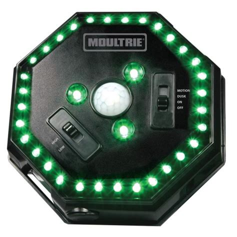 green light for hog moultrie feeder hog light