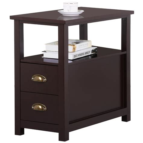bedroom end tables with drawers unique end tables with storage drawers table side drawers