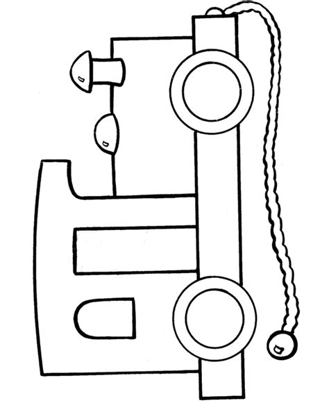 toy train coloring pages clipart best