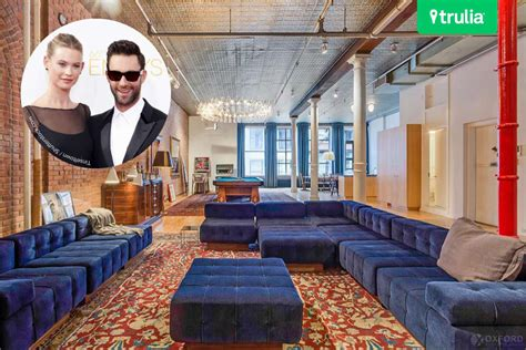 hous com the adam levine and behati prinsloo house in manhattan
