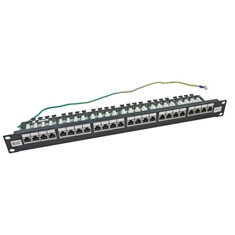 ftp port 20 24 port cat6a ftp shielded ccs 20 20 right angled patch panel