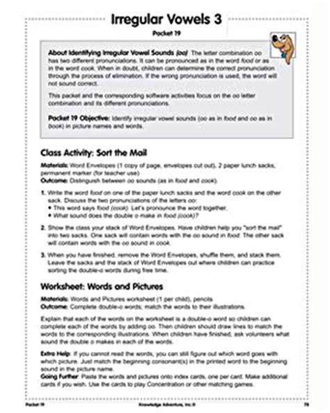 all worksheets 187 irregular vowels worksheets printable