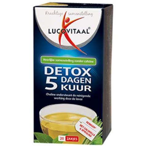 Detox Aloe Vera Kuur by Lucovitaal Melatonine Kruidenthee Bestel Glutenvrije
