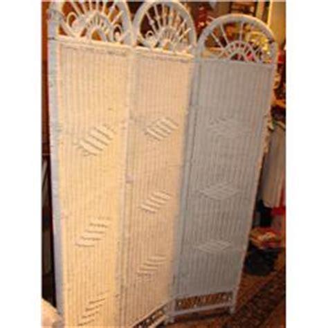 Tri Fold Room Divider White Wicker Tri Fold Room Divider