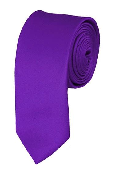 plum violet ties satin mens neckties