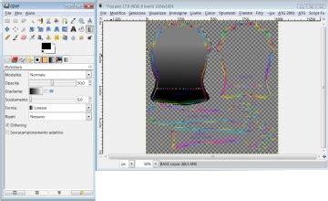 effetto bagnato photoshop texture in lattice lucida con effetto bagnato