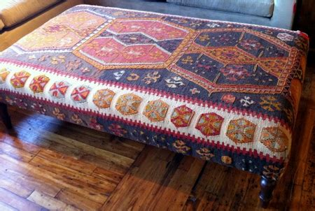 rug covered ottoman rug covered ottoman rug covered ottomans to die for home sweet home antique rug covered