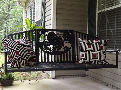 custom porch swing 15 custom handcrafted porch swing designs style motivation