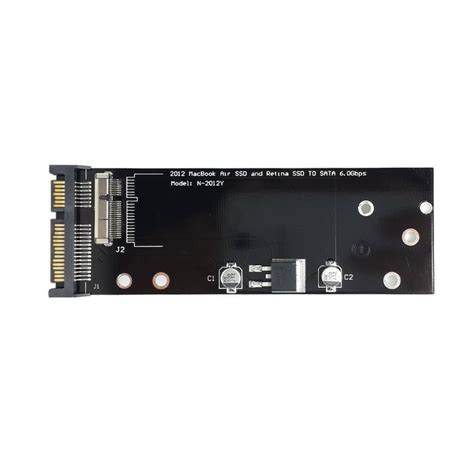 Hardisk Ssd Macbook Pro cy pcba 17 7pin ssd hdd to sata 22pin disk cartridge drive for macbook air pro md223 md224