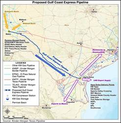 express pipeline map kinder proposing permian to gulf coast natgas pipeline