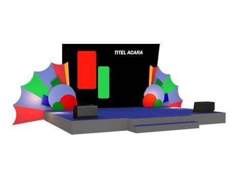 gambar layout panggung sewa panggung buat panggung desain panggung vendor