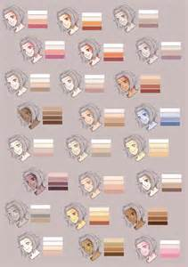 skin colors 1000 images about characters skin tones on